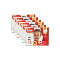 Kit de Fraldas Huggies Supreme Care Hiper Tam G - 384 Fraldas