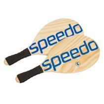 Kit de Frescobol Racket Speedo Preto -