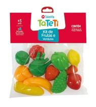 Kit de Frutas e Verduras 0209 - Tateti -