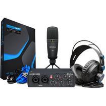 Kit de Gravação Presonus Audiobox USB 96 Studio 25th Ed. -