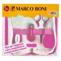 Kit de Higiene Baby Com Necessaire e Aspirador Nasal - Marco Boni