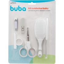 Kit De Higiene Cuidados Baby Para Bebês Cinza Buba 11953 -