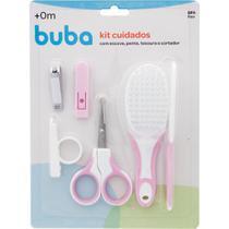Kit De Higiene Cuidados Baby Para Bebês Rosa Buba -
