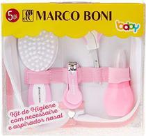 Kit de Higiene Cuidados Baby Rosa 8685 Marco Boni -