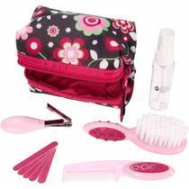Kit de Higiene e Beleza Completo para o Bebê (10 peças) Rosa - Safety 1st -