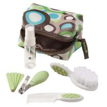 Kit de Higiene e Beleza Completo para o Bebê (10 peças) Verde - Safety 1st -