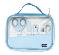 Kit de higiêne para bebês Happy Hands azul - Chicco -