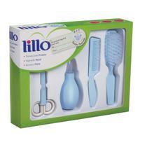 Kit De Higiene Para Recém Nascido Azul - Lillo -