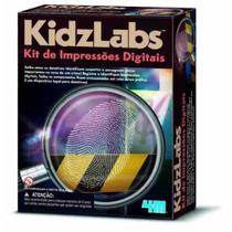 Kit De Impressões Digitais - 4m - Briquedo Educativo -