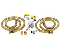 Kit de Instalação Duplo para Cooktop e Forno para Gás de Botijão - CJ-W10866791_2GLP - Brastemp