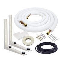 Kit de Instalação Para Ar Condicionado Split 7.000 a 9.000 Btus 2 metros - Frioshopping