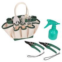 Kit de jardinagem com 7 peças - PRIMAVERA - Nautika
