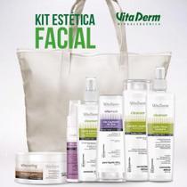KIT de Limpeza de Pele com 6 produtos (Ganhe uma linda Sacola da Vita Derm !!!) -