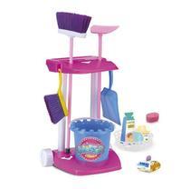 Kit  de limpeza infantil vassoura pa rodo master clean - Monte Libano