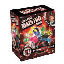 Kit de Mágica Mega com 101 Truques + Cartola de Mágico Indicado para +7 Anos Colorido Multikids - BR661 -