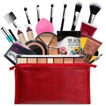 Kit De Maquiagem Completa Profissional Ruby Rose BZ69-3 - Bazar Na Web