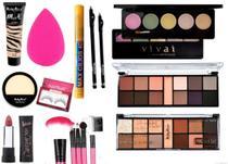 Kit De Maquiagem Profissional + Luisance e Macrilan - Ruby rose