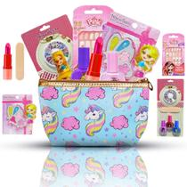 Kit de Maquiagens Infantis + Unhas + Necessaire e Muito mais BZ99 - Bazar Na Web