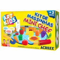Kit de Massinha de Modelar Mini Chef 450g Art Kids Acrilex -