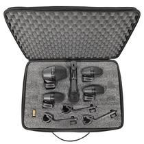 Kit de Microfone para Bateria PGA DRUM KIT5 (5 Peças)  SHURE -