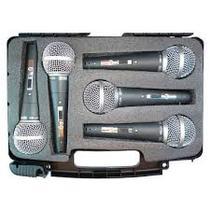 Kit De Microfones Ht-48 Vocal (5 Peças) Com Chave - Csr -