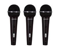 Kit de Microfones Waldman K-580-3PC -