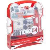 Kit de Microrretífica Nove54 AMR172 171 acessórios 130W 230V com Maleta -