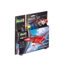 Kit de Montar BAe Hawk T.1 Red Arrows 1:72 Model Set Revell -