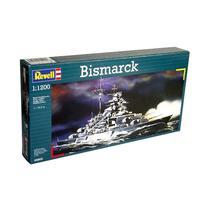 Kit de Montar Couraçado Bismarck 1:1200 Revell -