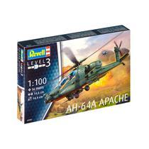 Kit de Montar Helicóptero Ah 64A Apache 1:100 Revell -