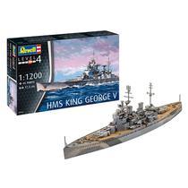 Kit de Montar HMS King George V 1:1200 Revell -