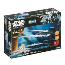 Kit de Montar Star Wars Rebel U-Wing Fighter com Luz e Som 1:100 Revell -