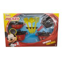 Kit De Panelinhas- Mickey 7 peças - Mielle Brinquedos