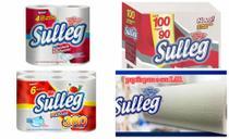 kit de papel para sua casa 5 pct guardanapo 16 rolos de higiênico folha dupla 6 rolos papel toalha - Sulleg