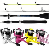 b494ccfc9 Kit de Pesca  Vara Microlight com Molinete TT - 120 Albatroz