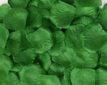 Kit de Pétalas Artificiais Verde Musgo - 1000 pétalas - Nice
