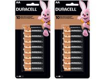 Kit de Pilha AA Pequena Alcalina 32 Unidades - Duracell