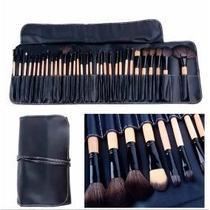 Kit de pincéis para maquiagem com 32 pcs profissional - Femana