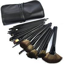 Kit de pinceis para maquiagem com 32 pcs profissional - Femana