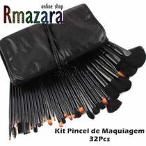 16ba67cb210de Kit de Pincel para Maquiagem com 32 Peças - Beautycare