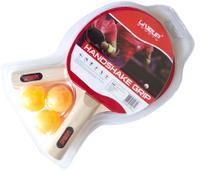 Kit de Ping Pong - 2 Raquetes e 3 Bolinhas - LiveUp Sports -