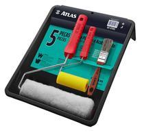 kit de Pintura e Acabamento Atlas 05 peças AT1002 -