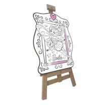 Kit De Pintura Infantil Fun Barbie 15 Peças -