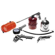 Kit de pintura para compressor 5 Peças - Pressure