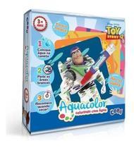 Kit De Pintura Toy Story Aquacolor Colorindo Com  Água 2607 - Toyster