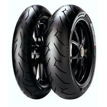 Kit de Pneus 140/70-17 + 110/70-17 Pirelli Diablo Rosso 2 -