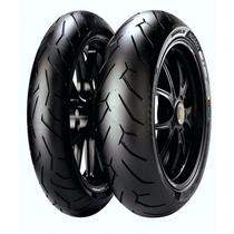 Kit de Pneus 160/60-17 + 120/70-17 Pirelli Diablo Rosso 2 -