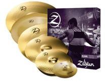 Kit de Pratos Zildjian Planet Z Super Pack - PLZSP - 14HH+16C+18CR+20R+10S+18CH -