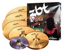 Kit de pratos zildjian zbt 390 super pack zbtp390-sp -