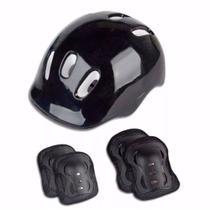 Kit de Proteção com Capacete, Joelheiras e Cotoveleiras Menino Fenix -